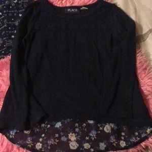 Children's Place Shirts & Tops - 2 piece set girls long sleeve shirts
